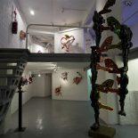 Roberto Ollivero, J'veux d'l'amour, Sculptures, néons et dessins,